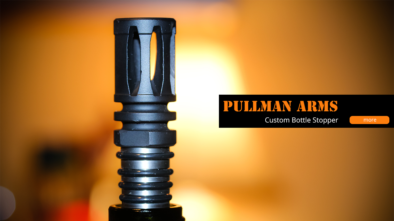 Pullman Arms Custom Bottle Stoppe