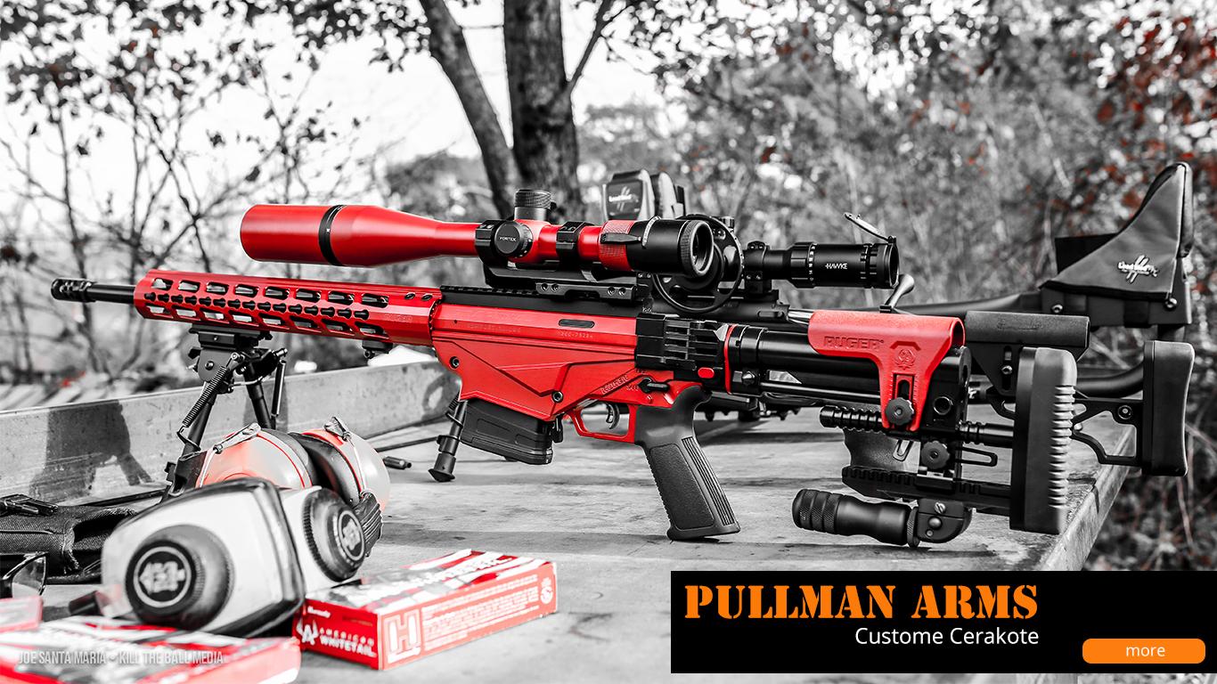 Pullman Arms Custom Cerakote