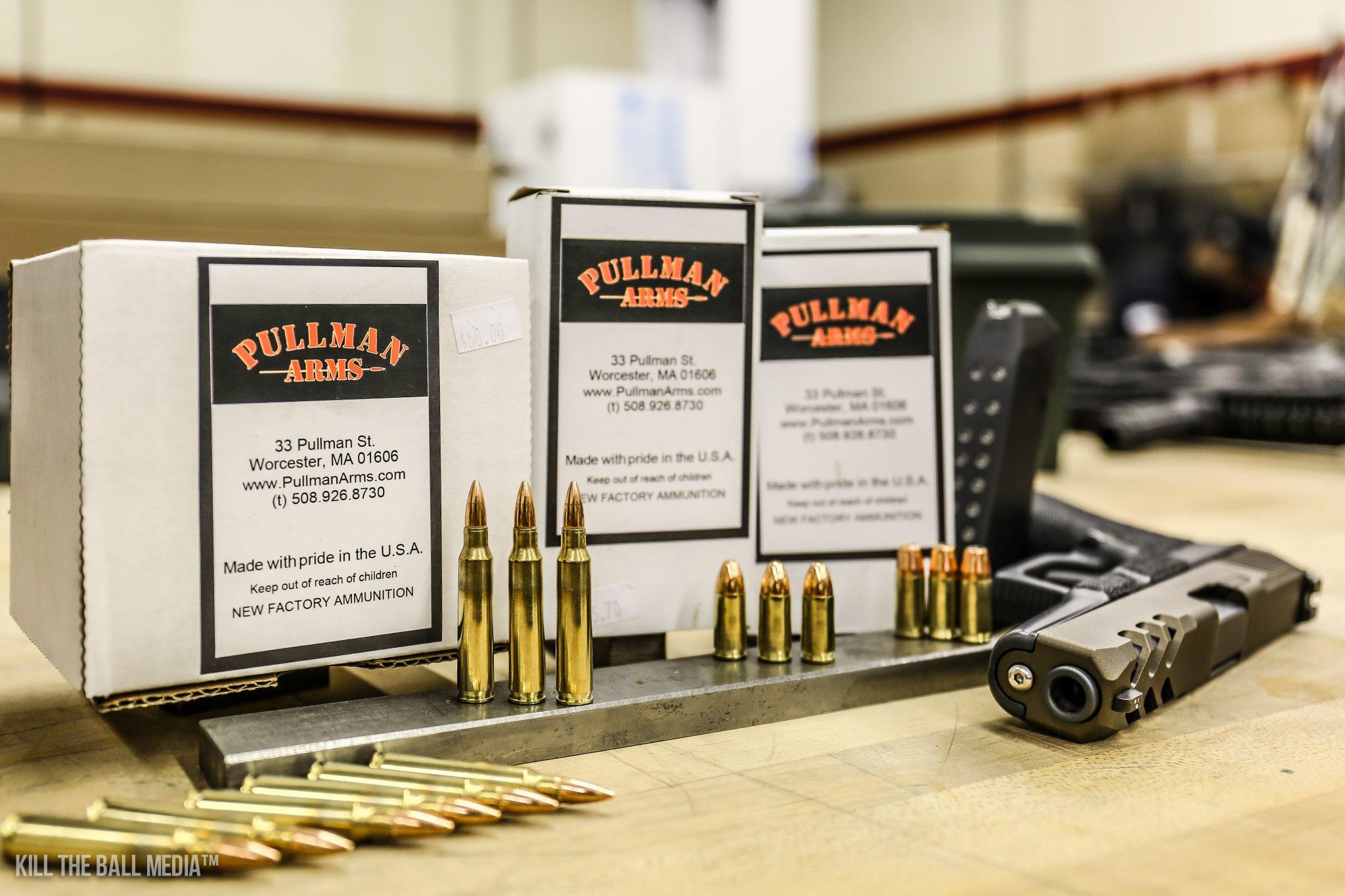 Pullman Arms Ammo